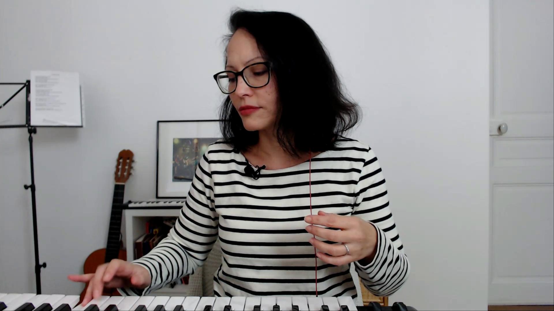 chanter legato et staccato