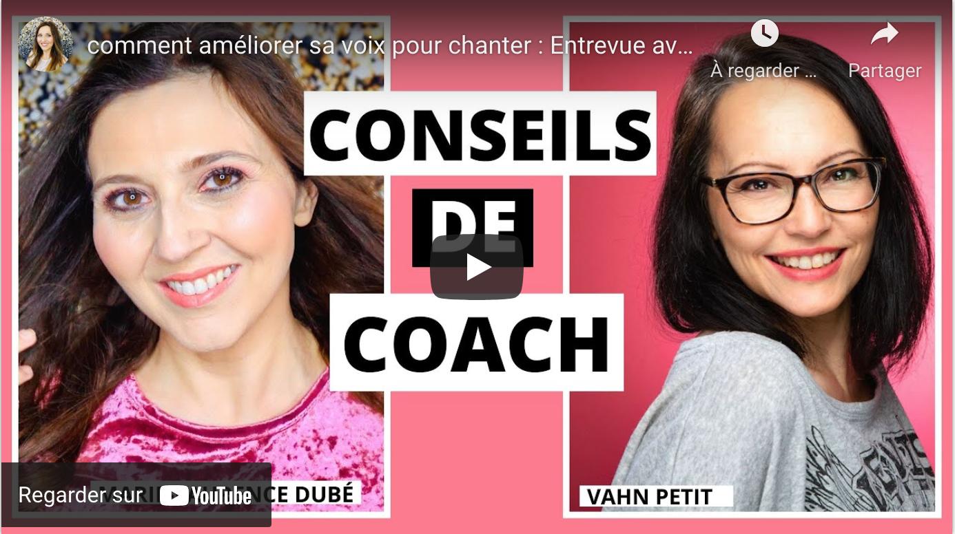 Marie-Laurence Dubé entrevue de Vahn Petit